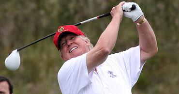 Трамп провел четверть президентского срока на поле для игры в гольф.