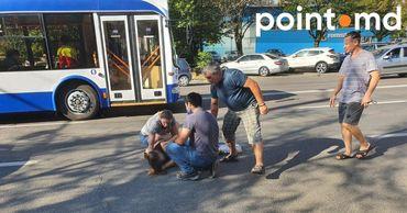 На Буюканах девушку сбило такси.