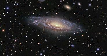 Едва родившаяся вращающаяся галактика была обнаружена учеными.