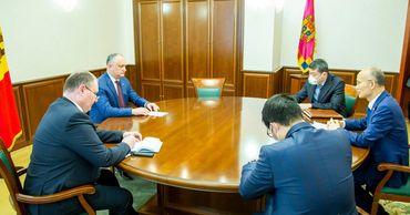 Глава государства провел встречу с Послом КНР в нашей стране Чжаном Инхуном.