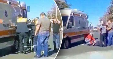 В Кишинёве автомобиль сбил 12-летнего мальчика на велосипеде.