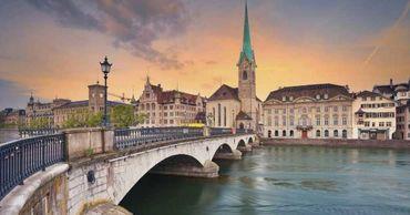 Цюрих один из самых дорогих городов мира.