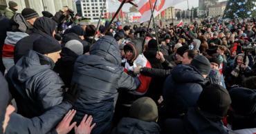 В Белоруссии второй день протестуют против интеграции с Россией.