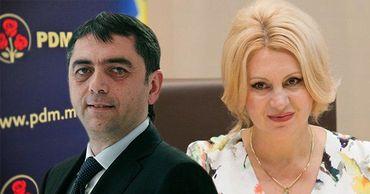 Депутаты Виолетта Иванов и Владимир Витюк присоединились к партии «Шор». Фото: Point.md