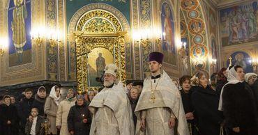 В Кафедральном соборе прошла праздничная литургия.