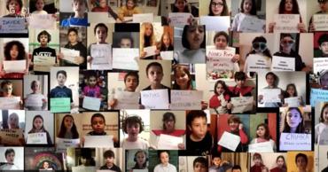 """В Сети разместили видео, на котором 700 детей поют арию """"надежды""""."""