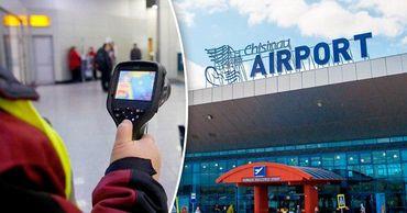 В Кишиневском аэропорту выявить заболевших коронавирусом почти нереально.