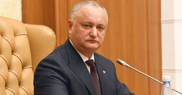 Опрос показал уверенную победу Игоря Додона на президентских выборах
