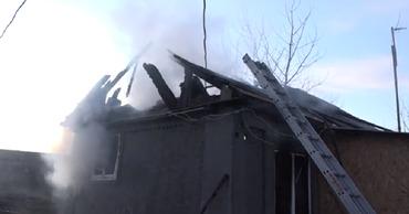 Пожар во Флорештах оставил без крыши над головой целую семью.