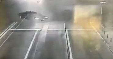 В Кишиневе, где недавно было смертельное ДТП, водитель BMW устроил дрифт.