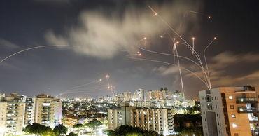 Около 1750 ракет выпустили по Израилю из сектора Газа с начала эскалации.