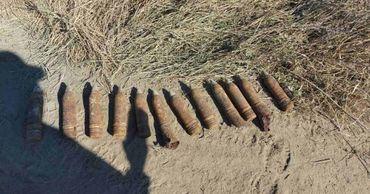 Возле коммуны Бубуечь обнаружен тайник с боеприпасами Второй мировой войны.
