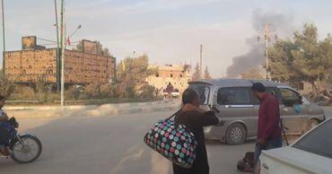Опубликованы первые кадры турецкой военной операции в Сирии.