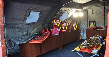 Поляки обучают пожарных и спасателей по оказанию первой медицинской помощи.