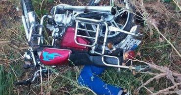 В Тараклии мужчина на мотоцикле погиб после падения с моста.