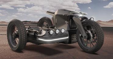 Концепт BMW Motorrad возвращает мотоциклы с коляской