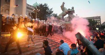 В Афинах произошли беспорядки из-за проекта об ограничении митингов.