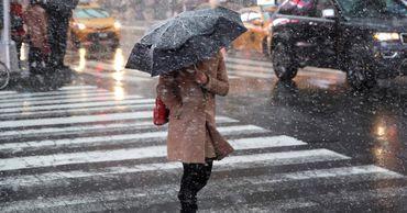 В Молдове в среду ожидаются осадки в виде дождя и мокрого снега.