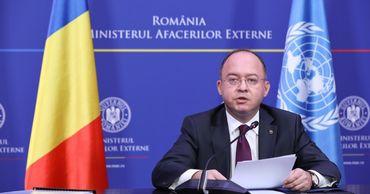 Глава МИД Румынии Богдан Ауреску.