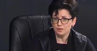 Журналист Елена Пахомова-Левицкая.