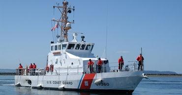 Катер береговой охраны США вошел в порт Батуми.