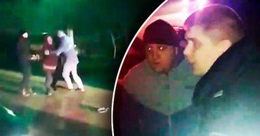 Паника людей после выстрелов в селе Елизавета попала на видео.