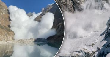 Отдыхавшие в горах Непала туристы сняли на видео сошедшую на них мощную лавину. Фото: Point.md.