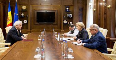 Гречаный обсудила с Плошницэ проблемы в деятельности адвокатов.