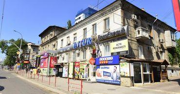В Кишиневе будет строго регламентироваться и реклама на фасадах зданий.
