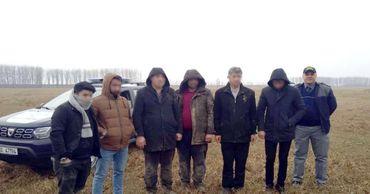 Задержаны 8 граждан Турции, которые незаконно попали в Румынию из Молдовы.