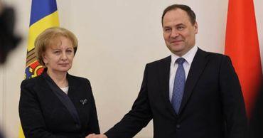 Гречаный встретилась в Минске с премьером Беларуси