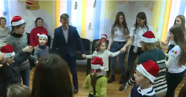 Митрополия Молдовы запустила Рождественский караван для детей.