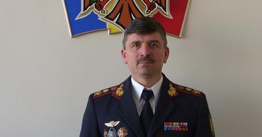 Начальник Главного инспектората полиции Вадим Кожокару.