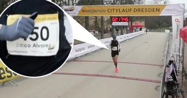 Испанец бежал 42 километра под чужим именем и установил рекорд Гондураса. Фото: Point.md.