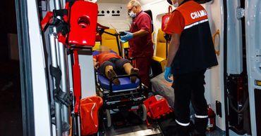 В Бельцах троих рабочих придавило гранитными плитами, один скончался. Фото: dse.md.