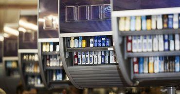Запрет на открытую выкладку сигарет коснется 9 тысяч торговых точек