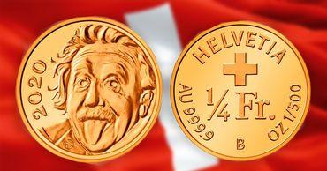 Самую маленькую в мире монету отчеканили в Швейцарии. Фото: Point.md.