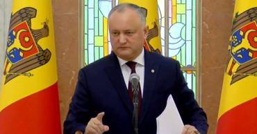 Додон: Плахотнюк должен быть доставлен в Молдову из США в наручниках.