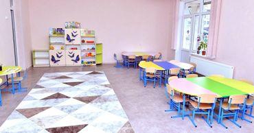 На Чеканах после ремонта открылся детский сад.