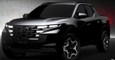 Hyundai показала на видео новый пикап Santa Cruz