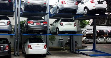 В столице будет построена первая автоматизированная парковка.