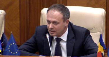 Депутат ДПМ Адриан Канду.