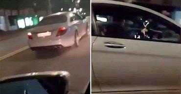 Инцидент произошел на проспекте Штефана чел Маре. Коллаж: Point.md