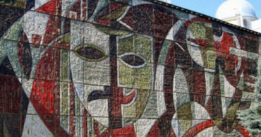 Мозаика с дворца культуры профсоюзов будет установлена в центре столицы.
