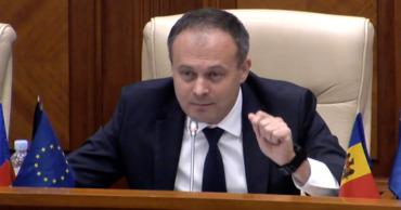 Лидер парламентской группы Pro Moldova Анд��иан Канду.