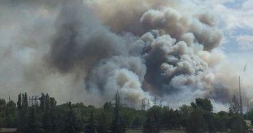 Спасатели потушили пожар вблизи Чернобыльской АЭС.