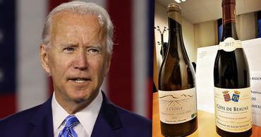 Французы отправили Байдену вино, призвав отменить пошлины Трампа. Фото: Point.md.