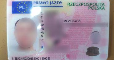 Водитель предъявил на границе поддельные права, купленные за 600 евро. Фото: aif.md.