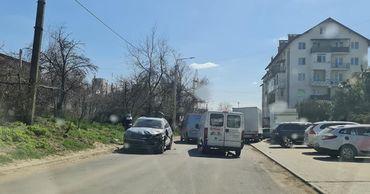 В Дурлештах произошло ДТП с участием трех машин
