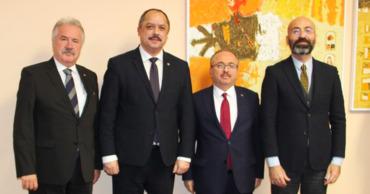 Министр образования встретился с руководством турецкого Фонда Maarif.